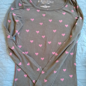 Aeropostale women 's long sleeve T-shirt - size S